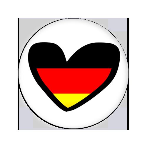 Herz Flaggen