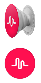 Classic Logo - white (musical.ly)