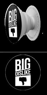Big Dislike weiß (LOGO)