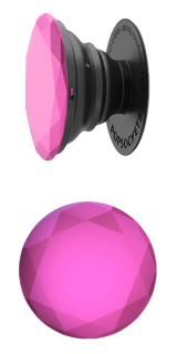 Fuchsia Metallic Diamond