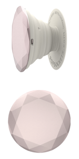 Rose Gold Metallic Diamond