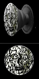 Black White Skull